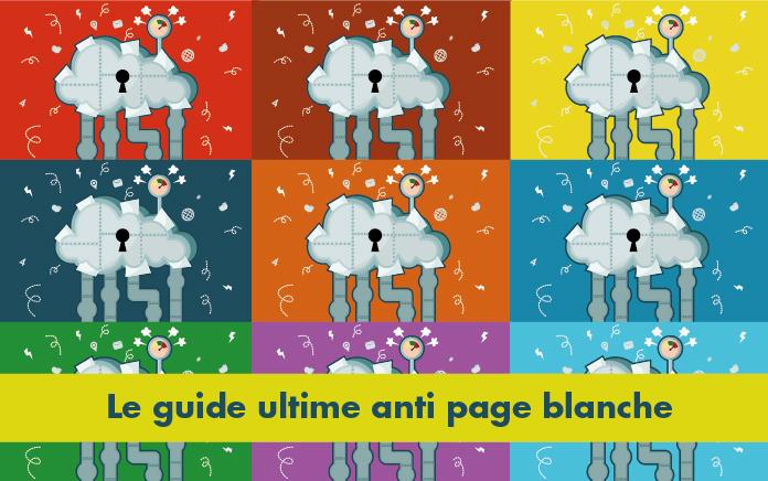 66 blogueurs – 173 astuces pour vaincre définitivement la page blanche.