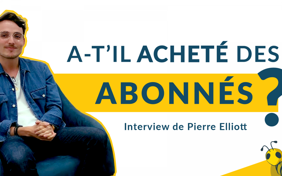 Comment avoir plus d'abonnés sur YouTube ?! 😰- 35K abonnés en 1 an, Interview de Pierre Elliott !